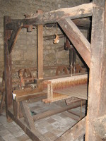 métier à tisser du XVIIIème siècle